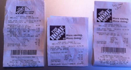 Beckett-Home-Depot-Receipts