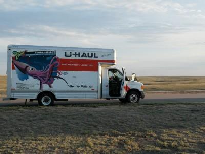 U Haul Truck in Kansas