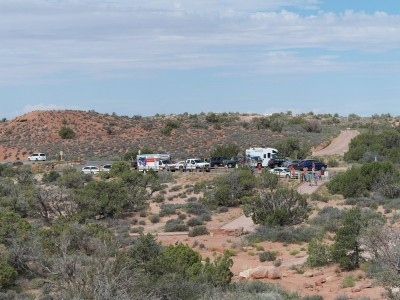 U Haul Truck at Arches NP