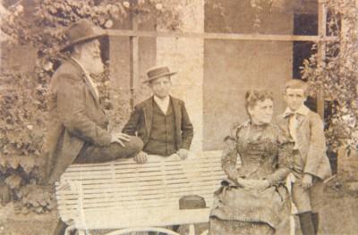 Alexander Grant Jr, wife Mary Croxton-Grant & children