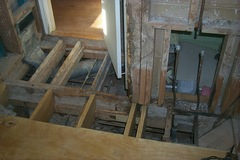 New floor beams
